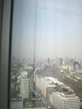 ホテルから東京タワー