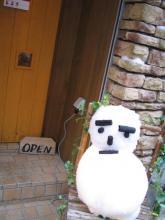 GOOD・Bの雪だるま
