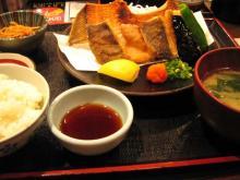 本日の魚唐揚定食
