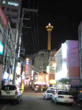 釜山観光ホテルそば