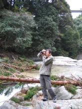 滝を撮るわQさん