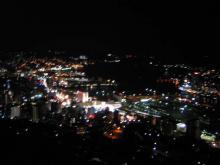長崎梅松鶴からの夜景