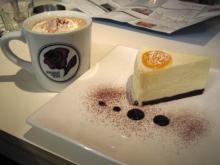 カフェモカ&チーズケーキ