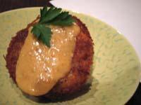 里芋のコロッケ