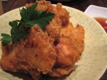 とろり豆腐の天ぷら