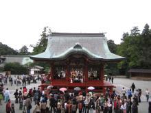 鶴岡八幡宮の神前式