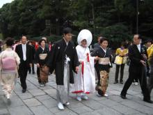 鶴岡八幡宮の花嫁