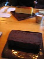 akebiのチョコレートケーキ