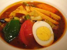 14種類の野菜のスープカレー