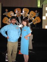 明和電機の制服
