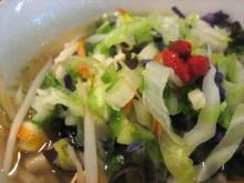 野菜たっぷり麺