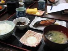 銀ダラみりん定食