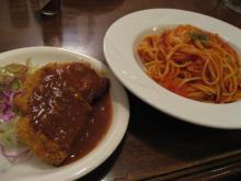 スパゲティランチ