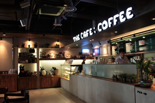 THE CAFE;COFFEE