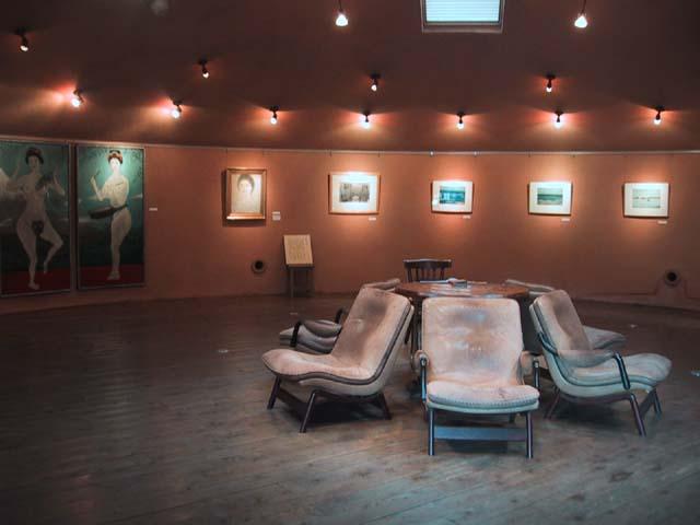 小山の展示室