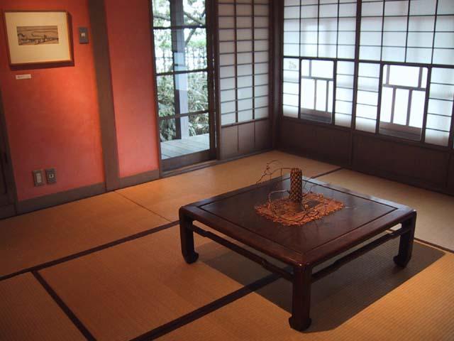 和室の展示室