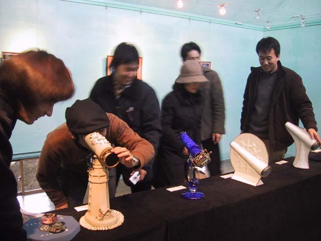 青い展示室