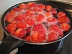 イチゴのコンポート